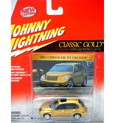 Johnny Lightning Classic Gold - Chrysler PT Cruiser