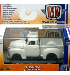 M2 Machines - Ground Pounders - 1954 Chevy 3100 Hot Rod Pickup Truck