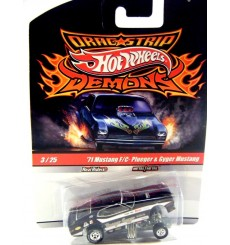 Hot Wheels 1971 Ford Mustang Plueger Gyger NHRA Funny Car