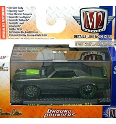 M2 Machines Ground Pounders - 1970 Mercury Cougar Eliminator