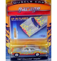 Greenlight Muscle Car Garage Up In Flames 1967 Chevrolet Impala