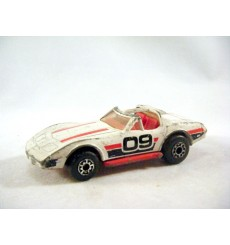 Matchbox Junkyard Chevrolet Corvette C3 Coupe with Red interior