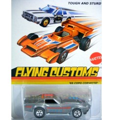 Hot Wheels Flying Customs - Chevrolet Corvette C3 Coupe