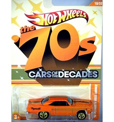 Hot Wheels Cars of the Decades - 1970 Plymouth Road Runner