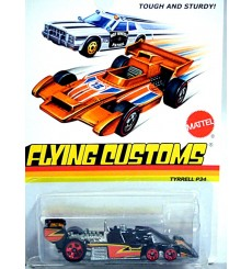 Hot Wheels - Flying Customs -Tyrrell P34 Six Wheeler Formula One Race Car