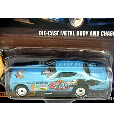 Johnny Lightning Wild Willie Borsch 1972 Dodge Charger Funny Car