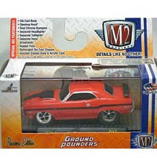 M2 Machines Ground Pounders - 1970 Dodge Challenger R/T 383