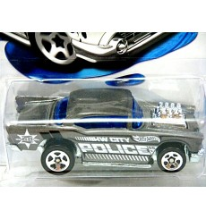 Hot Wheels Color Shifters - 1957 Chevrolet Bel Air Police Car