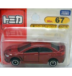 TOMY - 67 - Mitsubishi Lancer Evolution X - Japan only Blister