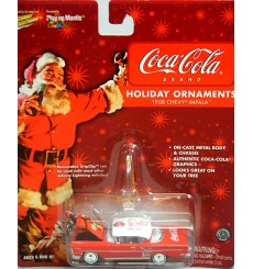 Johnny Lightning Johnny Lightning 1958 Chevrolet Impala Coca Cola Christmas Coca Cola Christmas