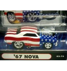 Muscle Machines - Stars & Stripes  Chevy Nova SS