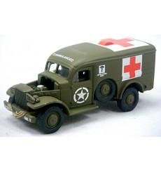 Johnny Lightning - Lightning Brigade WWII M1 Army Half Track
