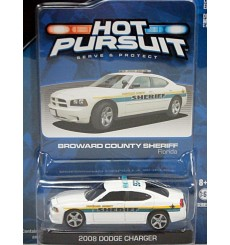 Greenlight Hot Pursuit - Broward County FL Sheriff Dodge Charger Police Patrol Car