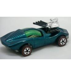 Johnny Lightning - Commemoratives  - Vicious Vette - Custom Chevrolet Corvette