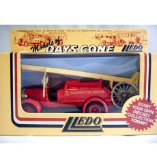 Lledo Days Gone 1938 Dennis Escape Glasgow Fire Brigade Fire Truck
