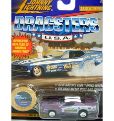 Johnny Lightning Dragsters USA The Hawaiian 1971 Dodge Charger NHRA Funny Car
