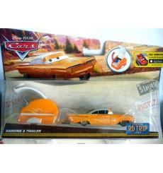 Disney - Cars -  Road Trip - 1959 Chevy Impala ande RV Camper Set