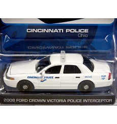 Greenlight Hot Pursuit Series - Cincinnati Police Ford Police Interceptor