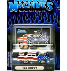 Muscle Machines 1955 Chevy Bel Air Stars & Stripes