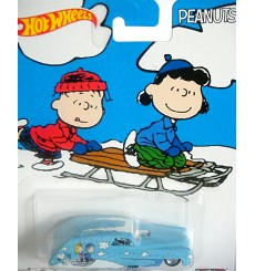 Hot Wheels Nostalgia Pop Culture Series - Peanuts -  Charlie Brown and Lucy Rolling Thunder Sedan Delivery