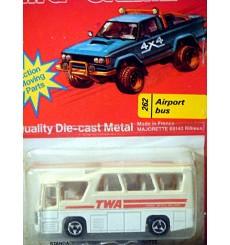 Majorette TWA Airlines Airport Minibus (262-A-2)
