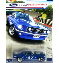 Hot Wheels - Ford Performance - 1967 Ford Mustang Coupe Race Car