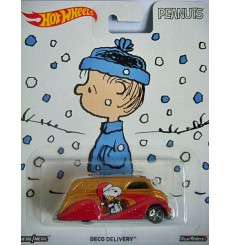 Hot Wheels Nostalgia Pop Culture Series - Peanuts - Snoopy Deco Delivery