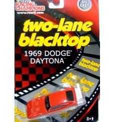 Racing Champions - Two Lane Blacktop Series - 1969 Dodge Daytona