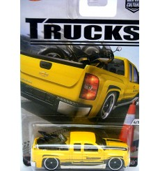 Hot Wheels Trucks - Chevy Silverado Pickup Truck with Motorcycle