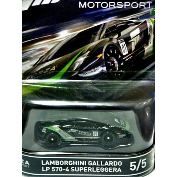 hot wheels forza motorsports lamborghini gallardo lp 570 4 superleggera. Black Bedroom Furniture Sets. Home Design Ideas