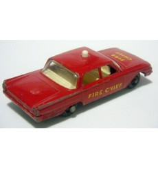 Matchbox Regular Wheels Series - Ford Fairlane Fire Chief Car