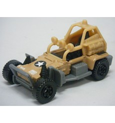 Matchbox - Sahara Sweeper - Military Dune Buggy