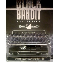 Greenlight Black Bandit 1964 Plymouth Fury Convertible