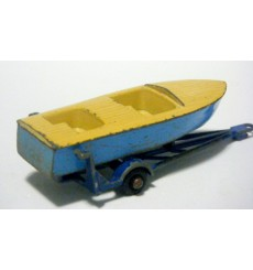 Matchbox Regular Wheels - Meteor Sports Boat and Trailer