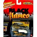 Johnny Lighnting Black with Flames George Barris Custom Merc Lead Sled