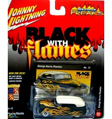 Johnny Lighnting Black with Flames George Barris Custom Merc Lead Sled