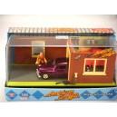 Motor Max American Graffiti Custom Merc Lead Sled Diorama - Mercury