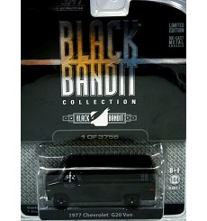 Greenlight Black Bandit Series - 1977 Chevrolet Van