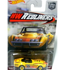 Hot Wheels Redliners - 1969 Chevrolet Corvette Race Car