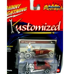 Johnny Lightning Kustomized 1937 Ford Coupe Hot Rod