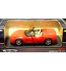 Hot Wheels 1:18 Scale - Chevrolet Corvette C6 Convertible
