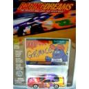 Johnny Lightning Racing Dreams - 1997 Pontiac Grand Prix McDonalds Grimace NASCAR Stock Car
