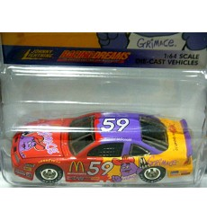 Johnny Lightning Racing Dreams - 1997 Pontiac Grand Prix McDonalds GrimaceNASCAR Stock Car