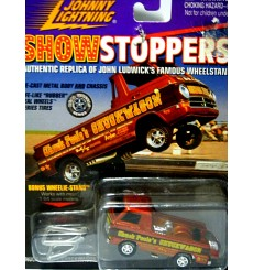 Johnny Lightning ShowStoppers - Chuck Poole's Checkwagon Dodge A-100 Pickup Truck