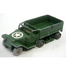 Matchbox Regular Wheels (49A-5) M3 Personnel Carrier Military Half Track