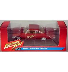 Johnny Lightning Limited Edition Lightning Fest Event Car 1962 Chevrolet Bel Air Bubbletop