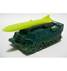 Matchbox  - Attack Track - Military Mobile Missile Launcher