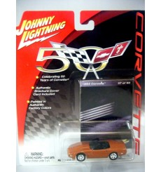 Johnny Lightning Corvette 50th Anniversary 1994 C4 Chevrolet Corvette Convertible