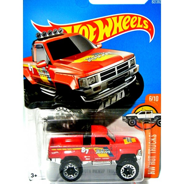 hot wheels 1987 toyota pickup truck global diecast direct. Black Bedroom Furniture Sets. Home Design Ideas