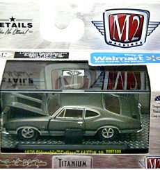 M2 Machines - Titanium - M2 Machines - Titanium - 1970 Oldsmobile 442 W-30